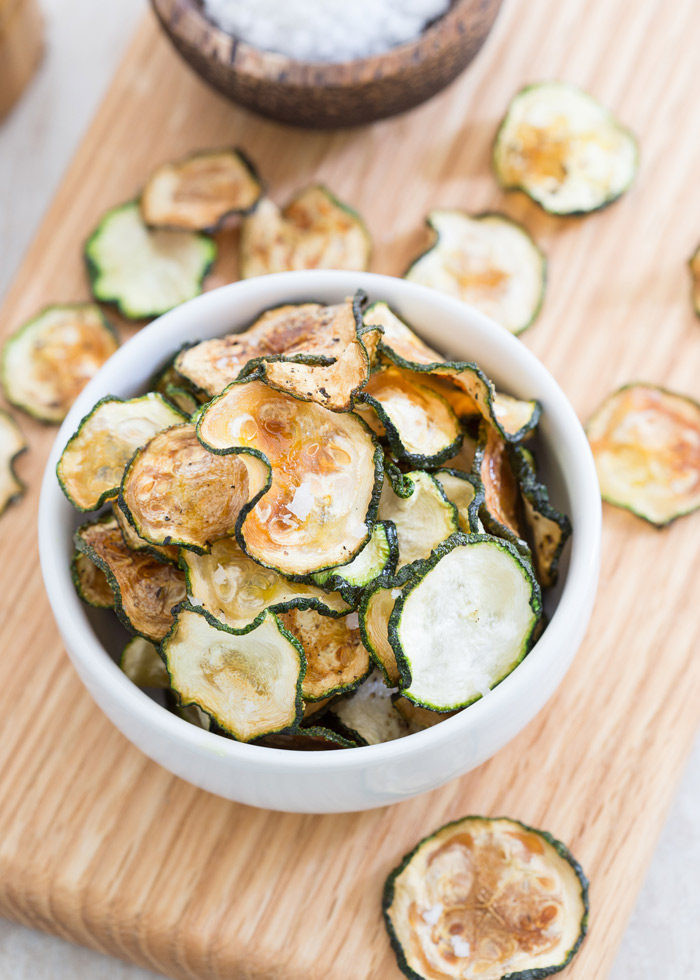 Baked Zucchini Recipes Healthy  Oven Baked Zucchini Chips Kitchen Treaty