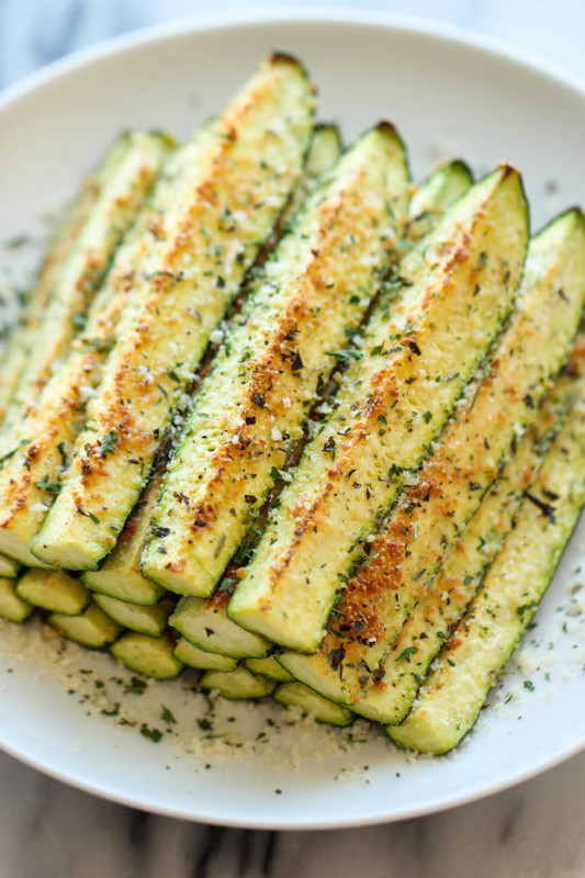 Baked Zucchini Recipes Healthy  Baked Parmesan Zucchini — Easy Recipes & Healthy Eating