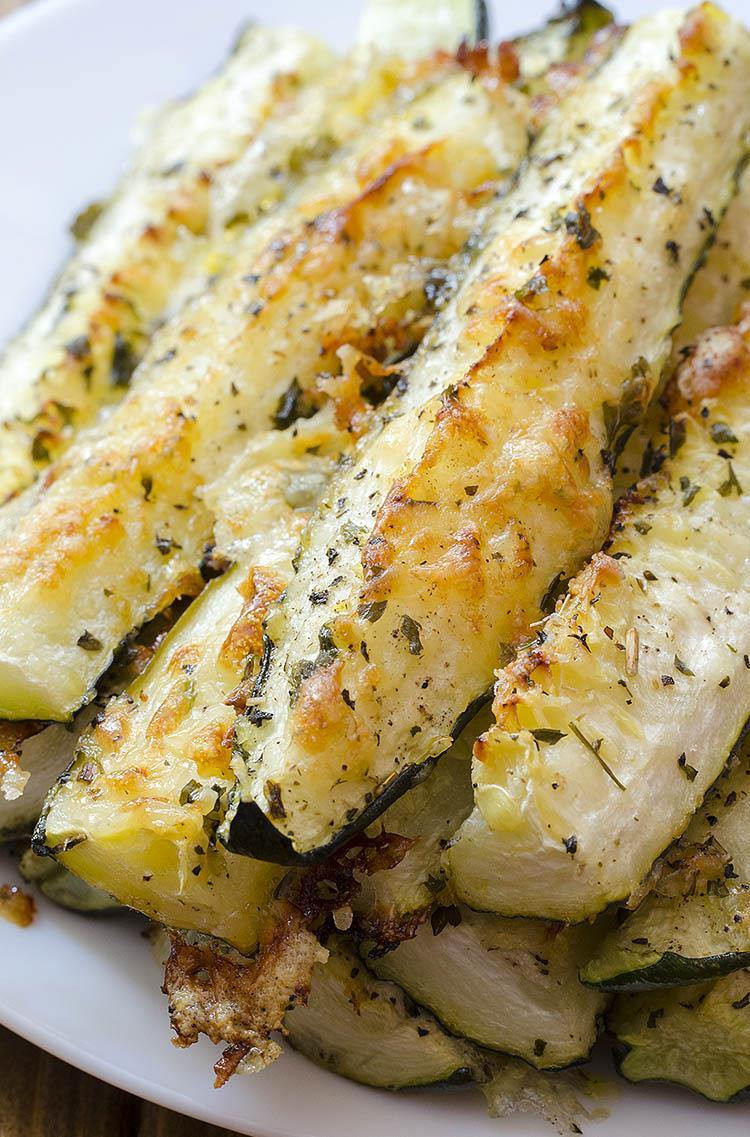 Baked Zucchini Recipes Healthy  Baked Parmesan Zucchini