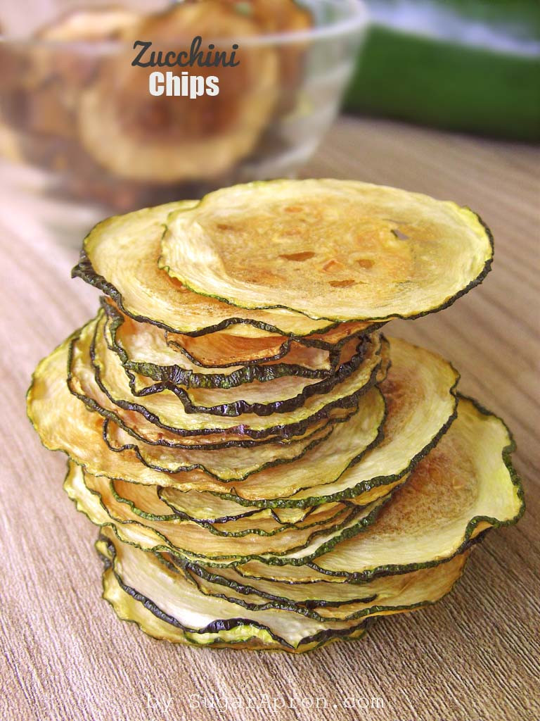 Baked Zucchini Recipes Healthy  Baked Zucchini Chips Recipe Sugar Apron