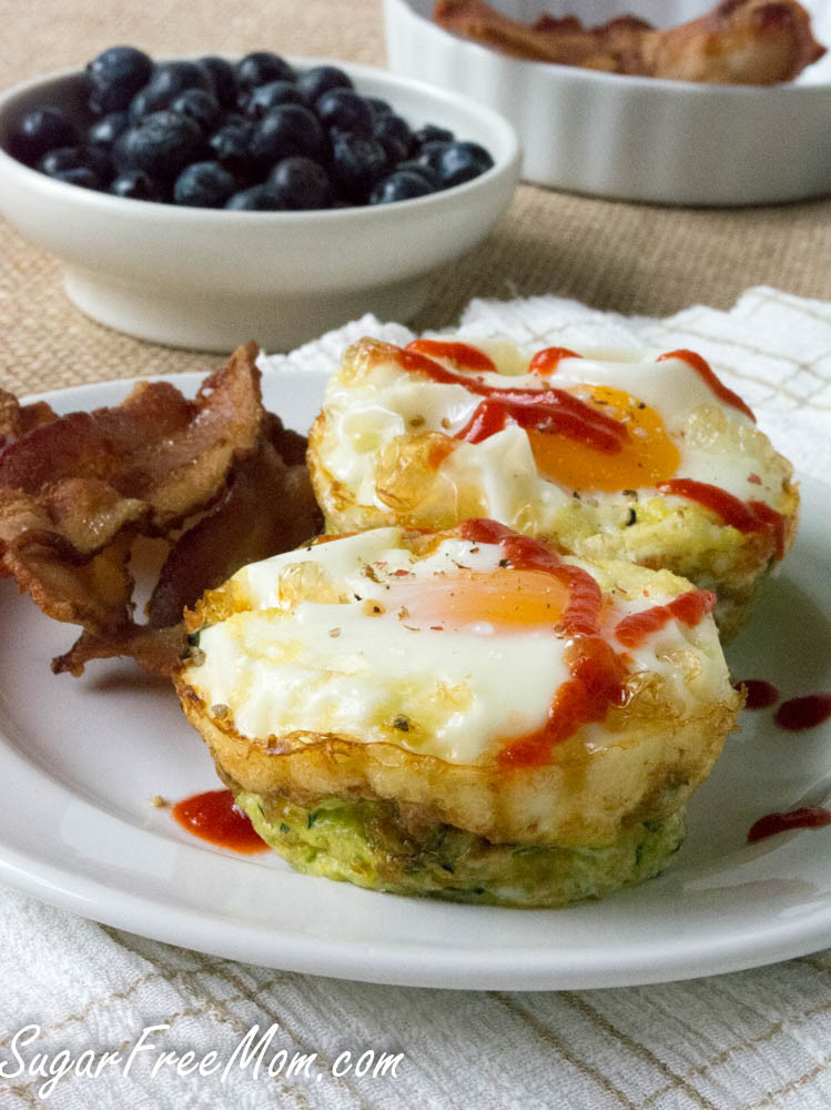 Baked Zucchini Recipes Healthy  Baked Zucchini Egg Nests Get Healthy U