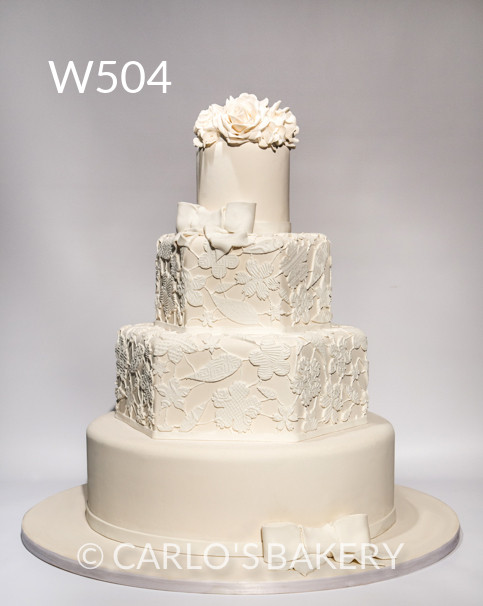 Bakery Wedding Cakes  Carlo s Bakery Wedding Cakes