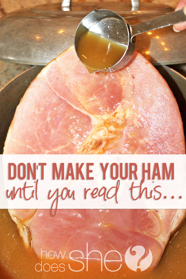 Baking Easter Ham  Bone In Baked Ham Recipe Don t make ham until you read