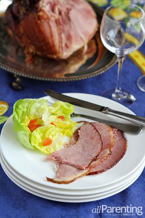 Baking Easter Ham  Easter ham with orange and brown sugar glaze