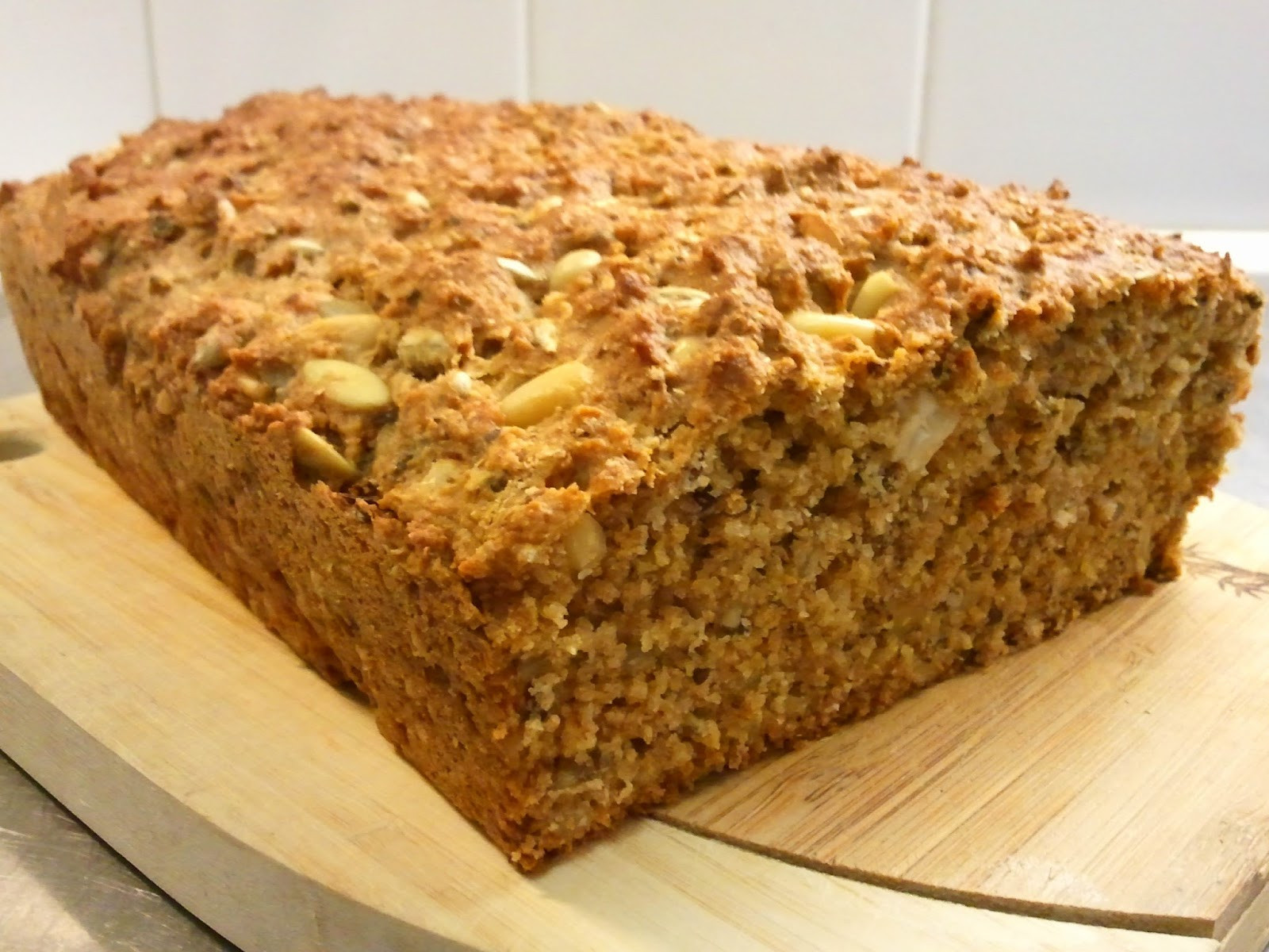 Baking Healthy Bread  Riittalicious Bake My Day Healthy Nut And Seed Bread