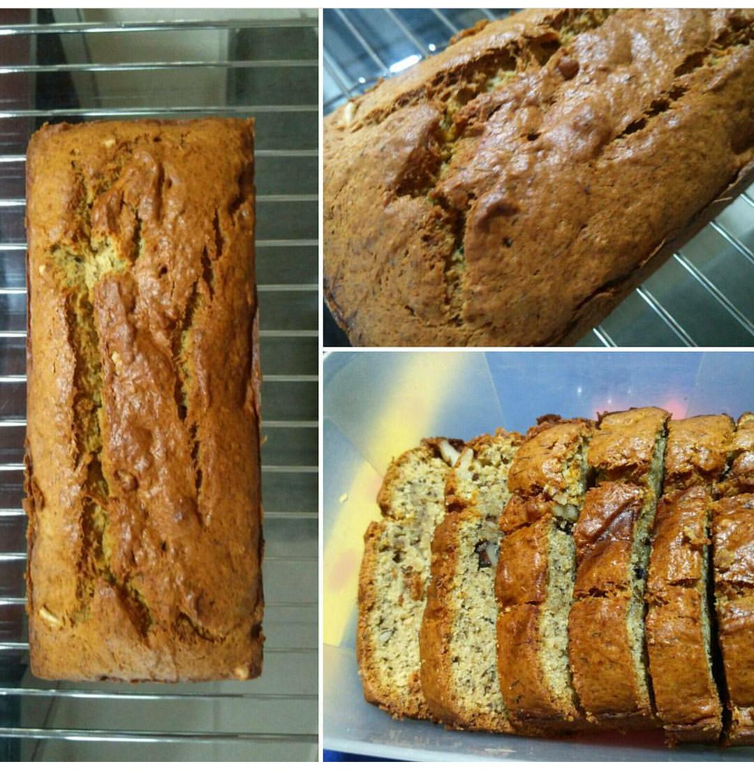 Baking Healthy Bread  Healthy Baking – Eggless Banana Bread – the mon women