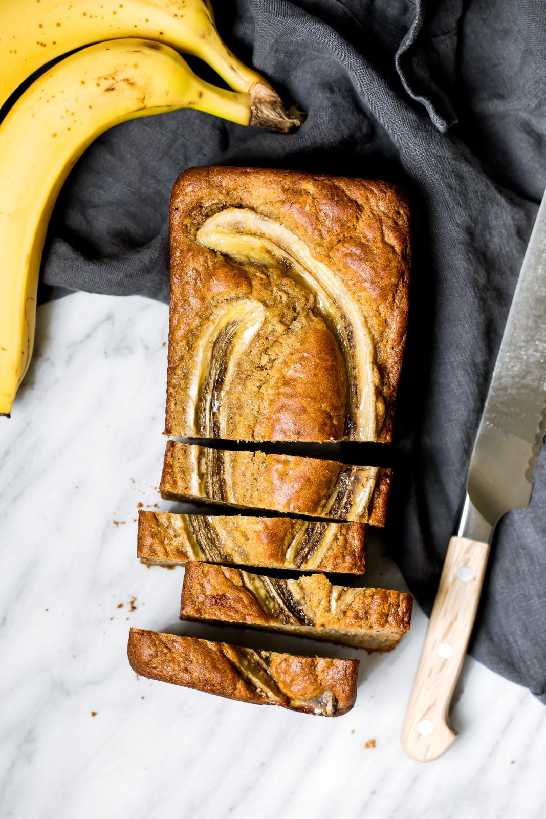 Baking Healthy Bread  My Favorite Healthy Banana Bread Recipe why baking is