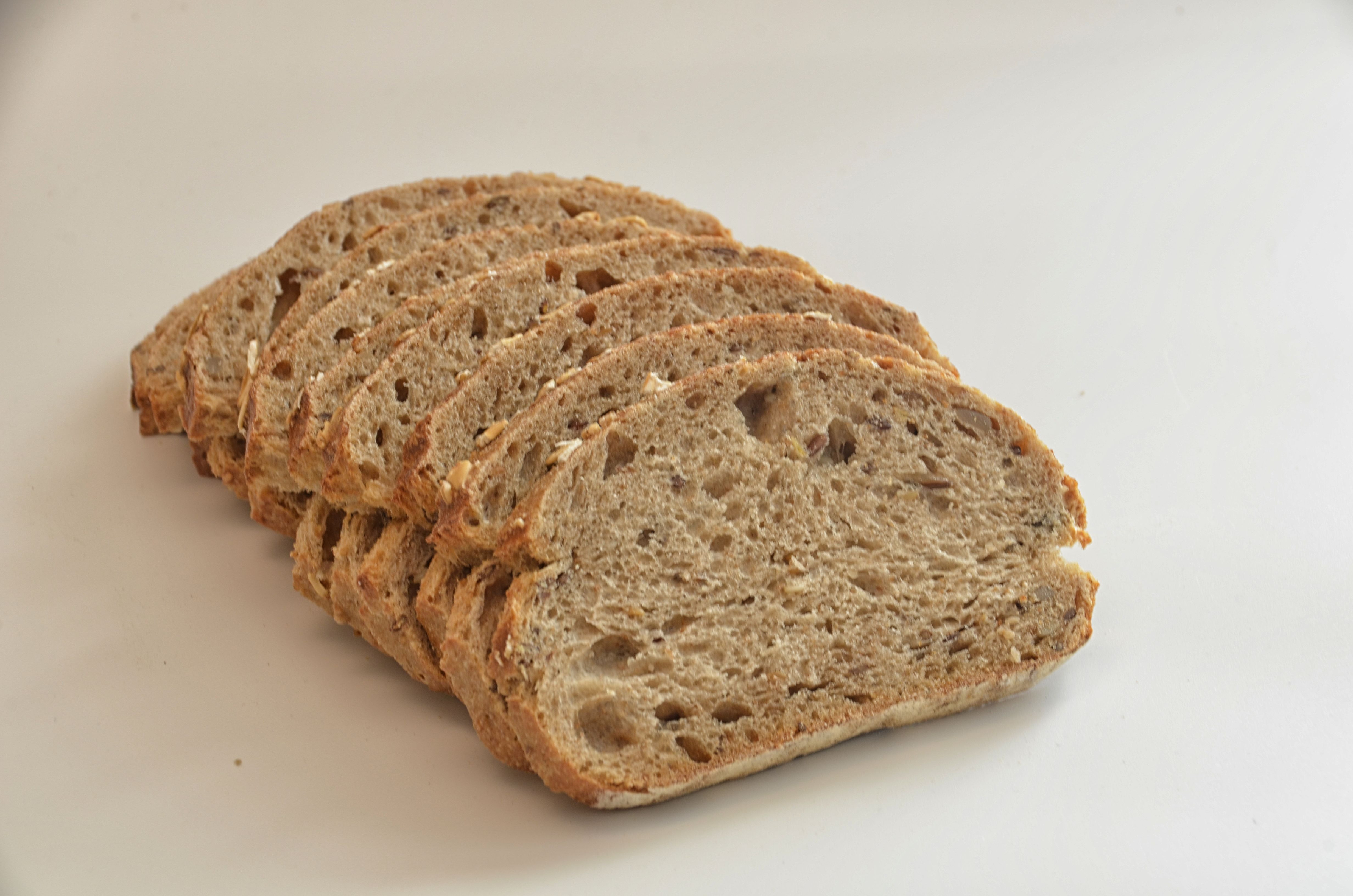 Baking Healthy Bread  Several Brown Breads · Free Stock