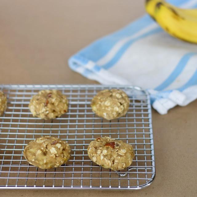 Banana Bread Cookies Healthy  Four Ingre nt Healthy Banana Bread Cookies