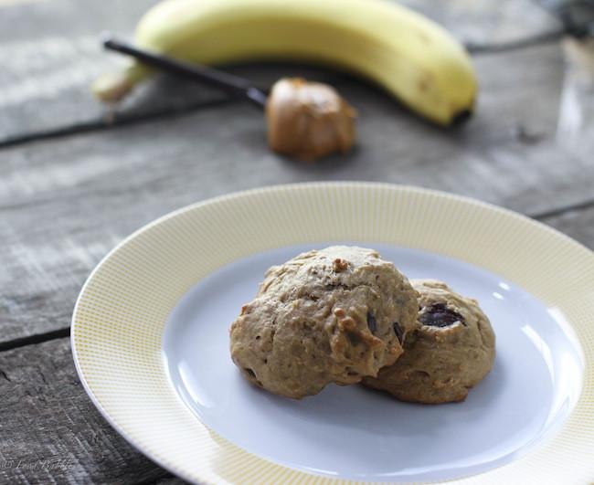 Banana Bread Cookies Healthy  Healthy Peanut Butter Banana Bread Cookies & Keeping Kids