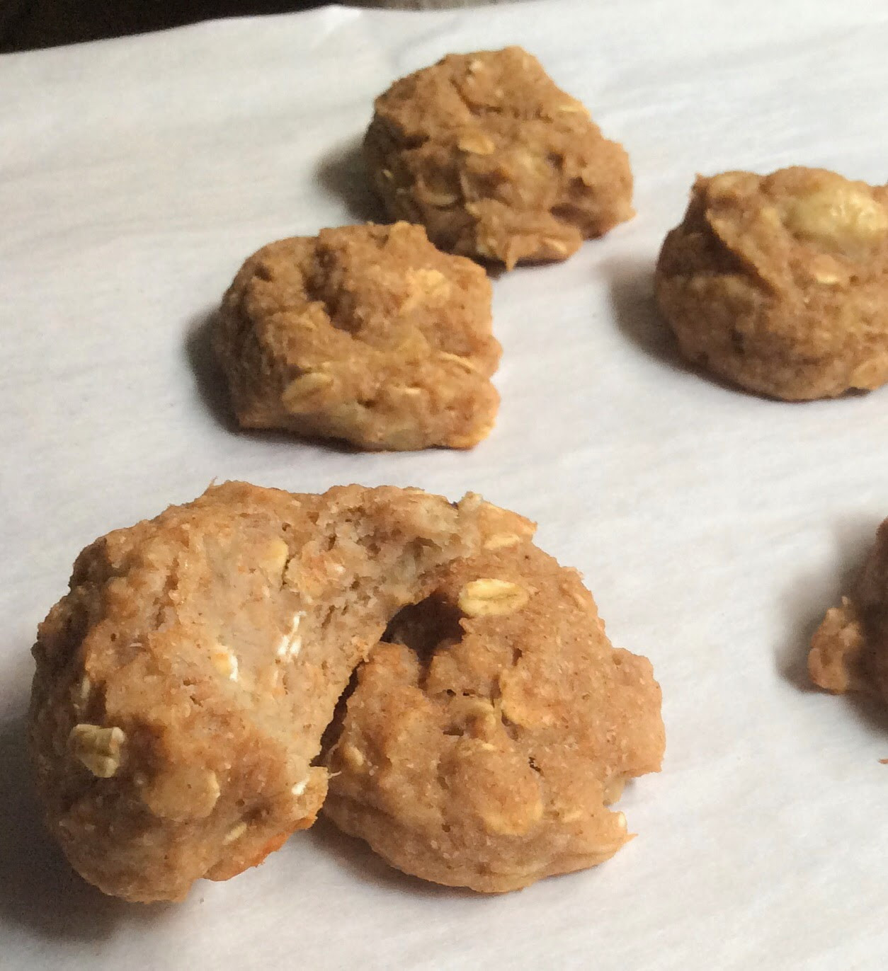 Banana Bread Cookies Healthy  A Whisk and A Prayer Healthy Banana Bread Cookies