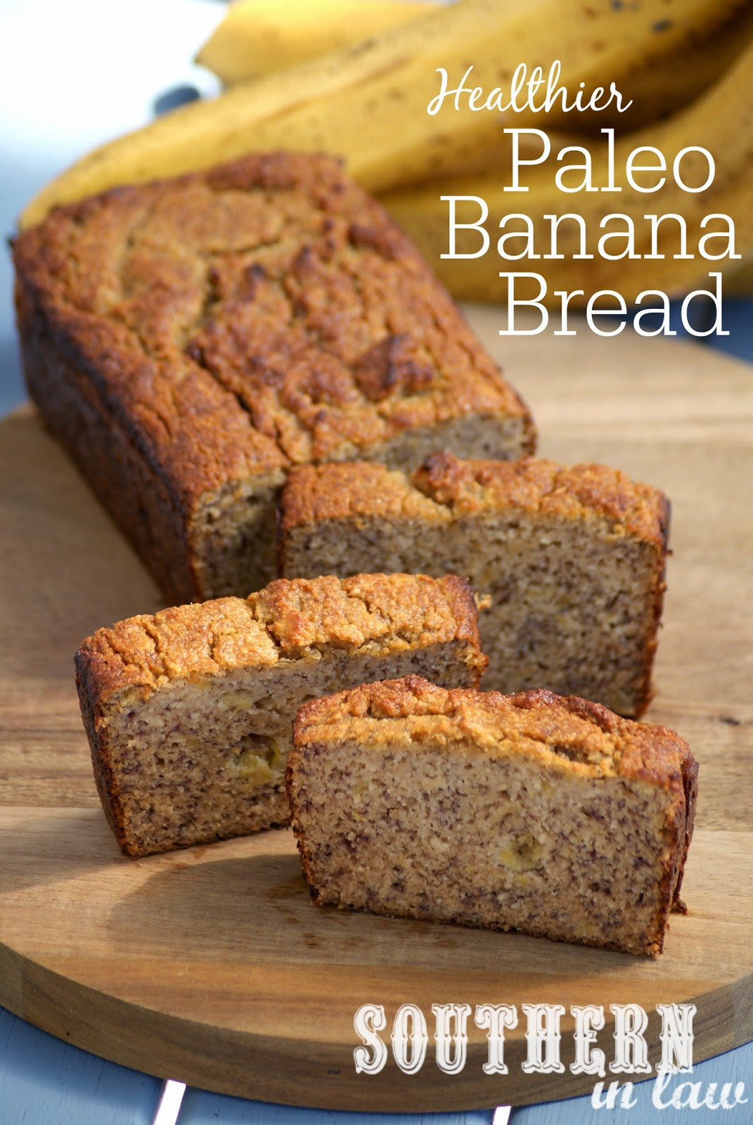 Banana Bread Healthy  Southern In Law Recipe The Best Healthy Paleo Banana Bread