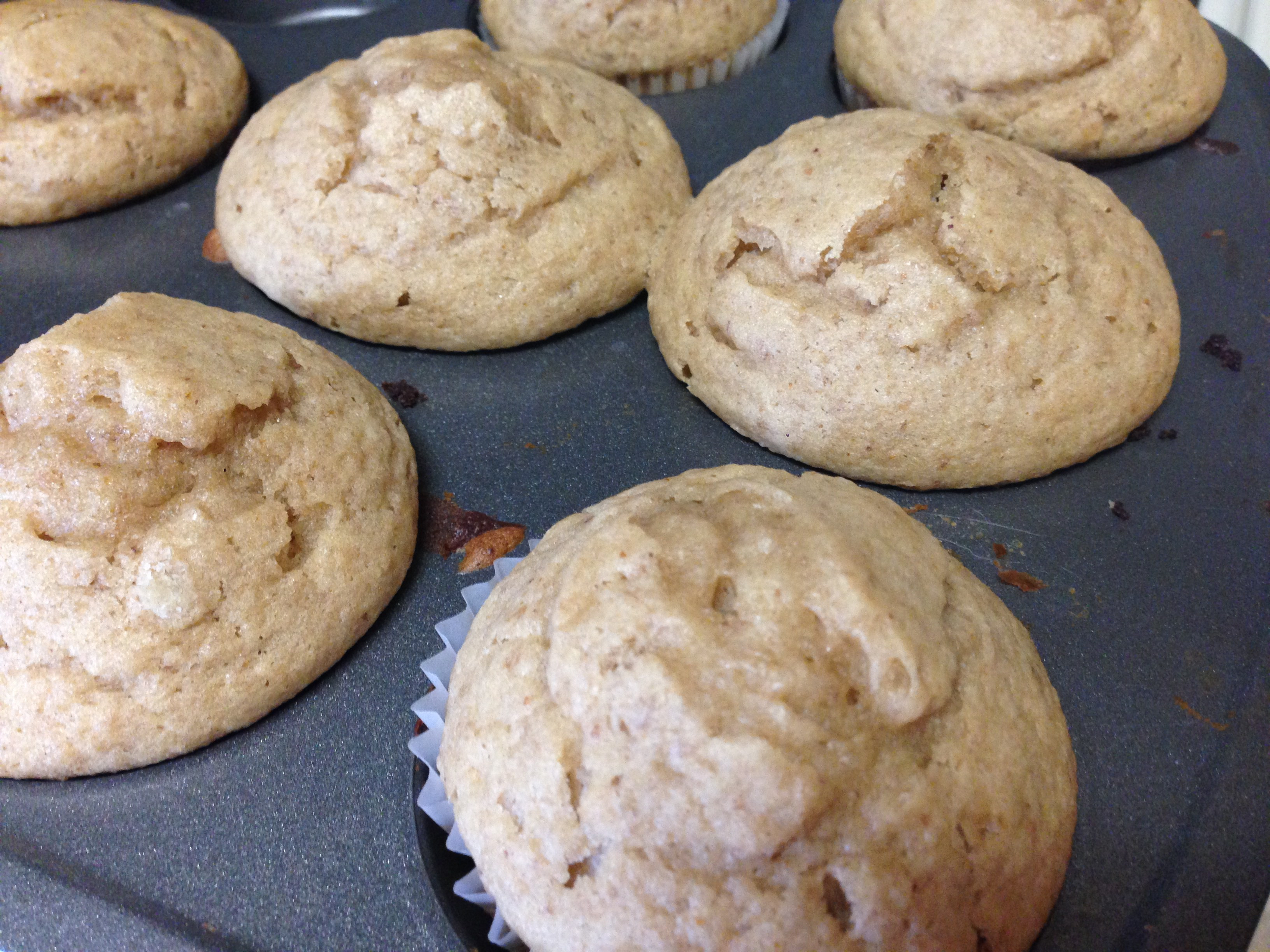 Banana Bread Muffins Healthy  Healthy Banana Bread Muffins Easy Living Today