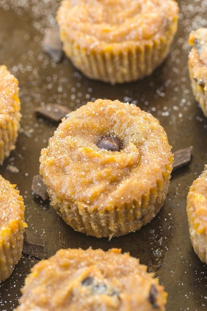 Banana Bread Muffins Healthy  Healthy 4 Ingre nt Banana Bread Muffins Paleo Vegan