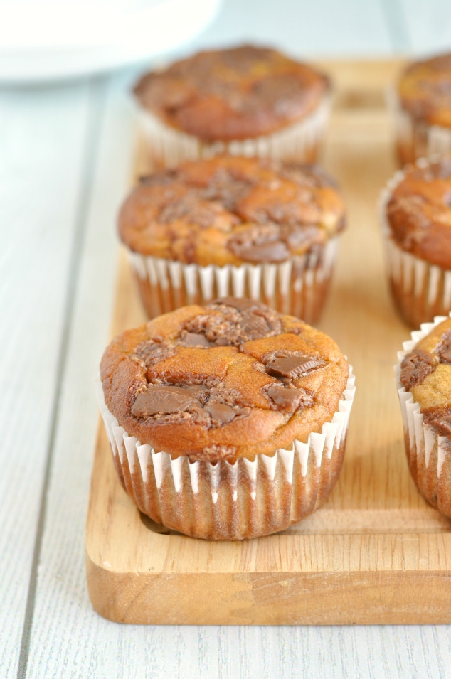 Banana Bread Muffins Healthy  The Best Ever Healthy Banana Bread Muffins