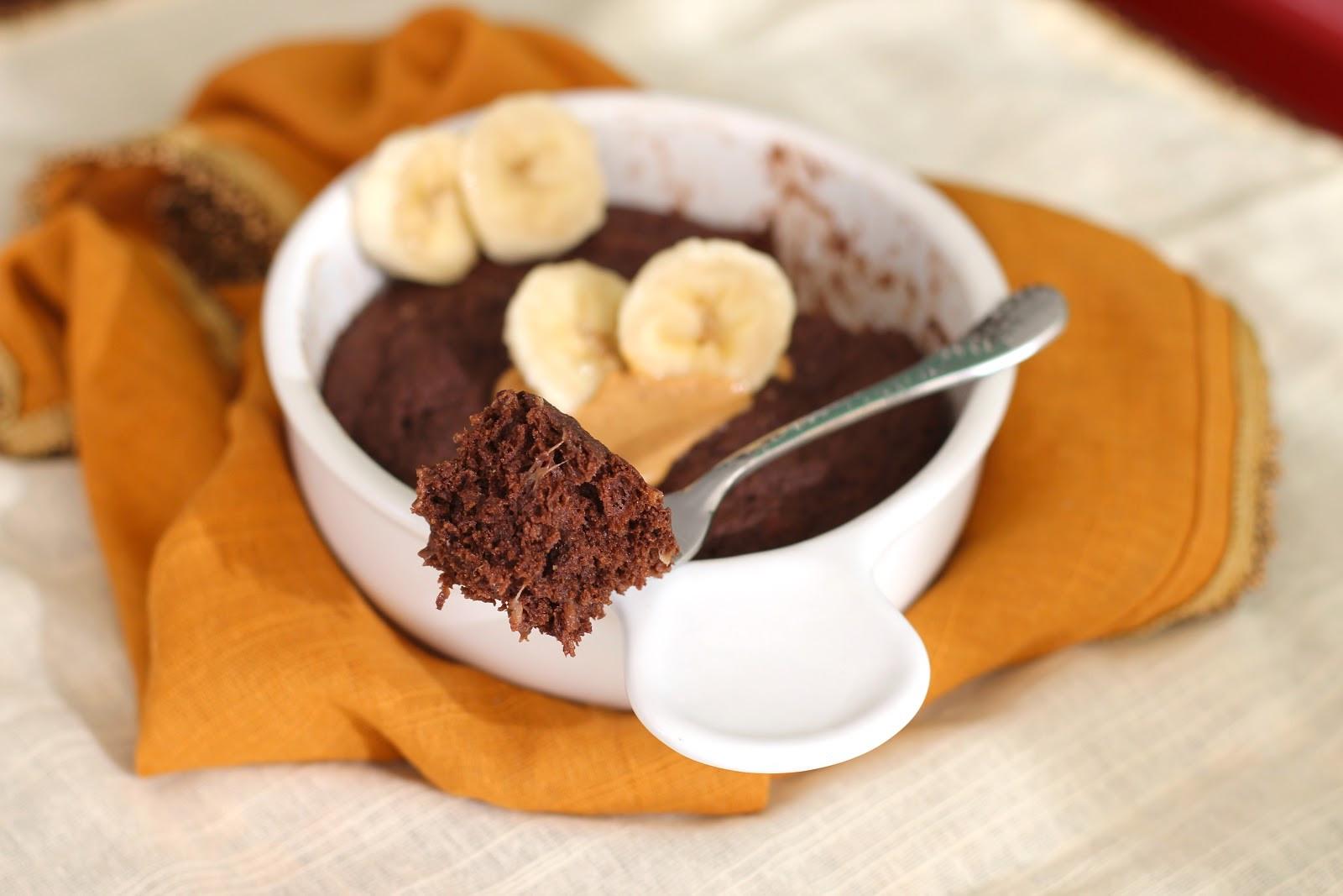 Banana Desserts Healthy  Healthy Single Serving Chocolate Peanut Butter Banana
