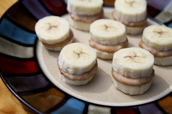 Banana Desserts Healthy  Healthy Dessert Frozen Nutty Banana Nibblers