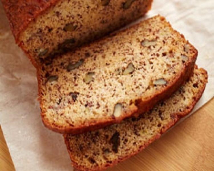 Banana Nut Bread Healthy  Healthy Banana Nut Bread Recipe by Recipe CookEat