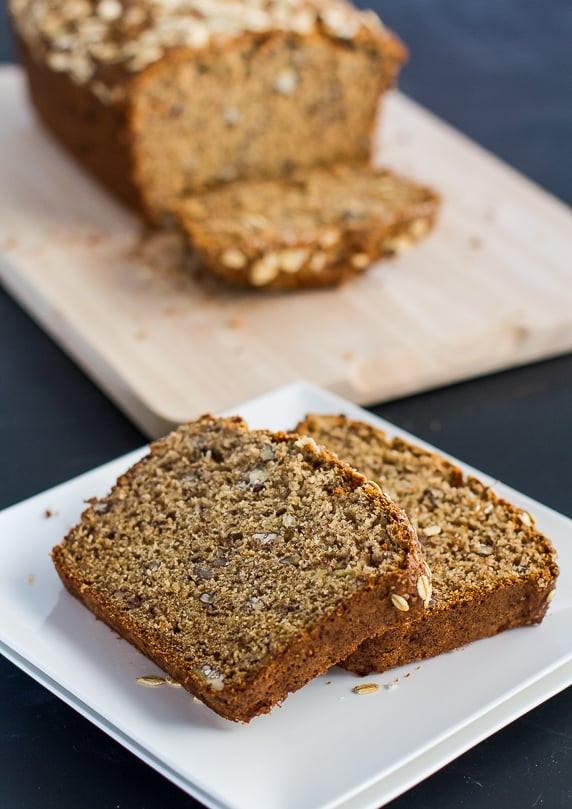 Banana Nut Bread Healthy  Healthy Whole Wheat Banana Nut Bread Jo Cooks