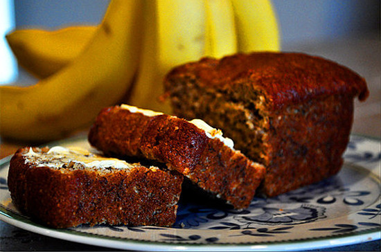 Banana Nut Bread Healthy  Healthy Banana Bread Recipe With Chia and Flaxseeds