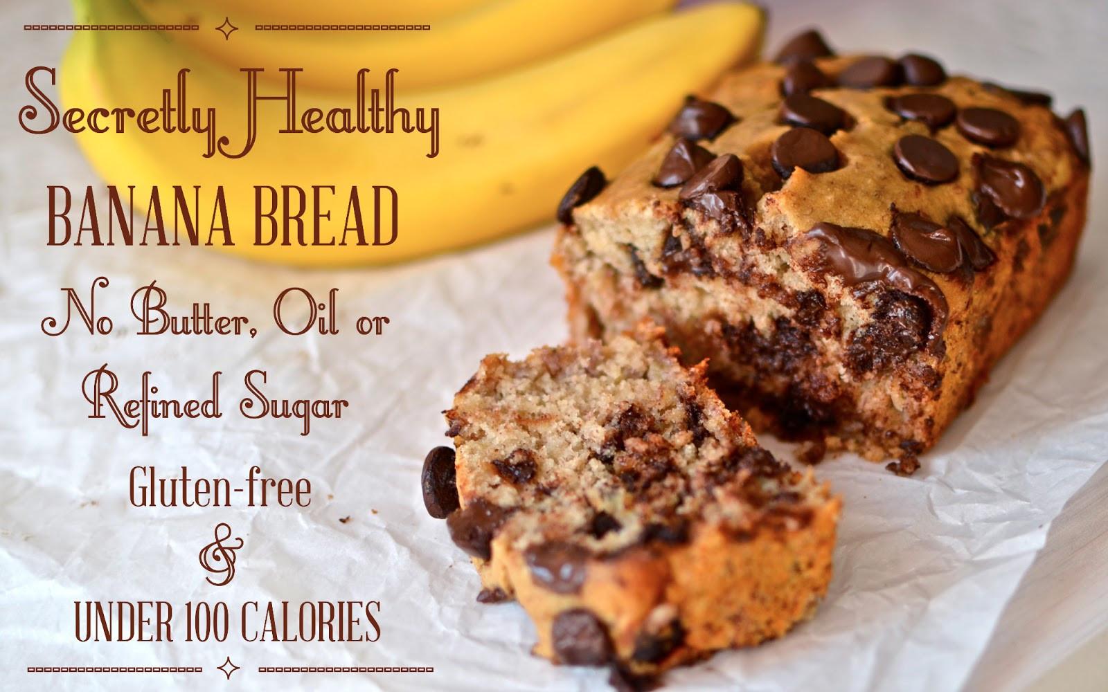 Banana Recipes Healthy  Yammie s Glutenfreedom Secretly Healthy Banana Bread