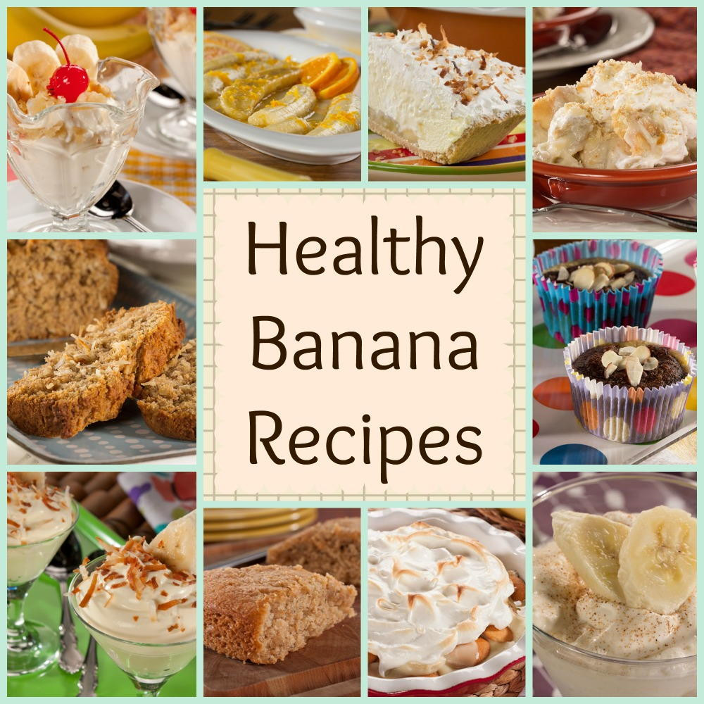 Banana Recipes Healthy  12 Healthy Banana Recipes Banana Bread Banana Pudding