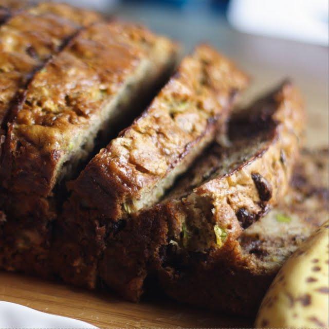 Banana Zucchini Bread Healthy  Zucchini Banana Bread Healthy Eating for Ordinary People