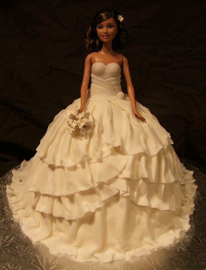Barbie Wedding Cakes  Barbie Doll 3D Trivandrum Cake House
