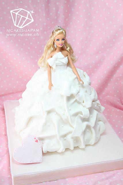 Barbie Wedding Cakes  a4e1bf24ac z