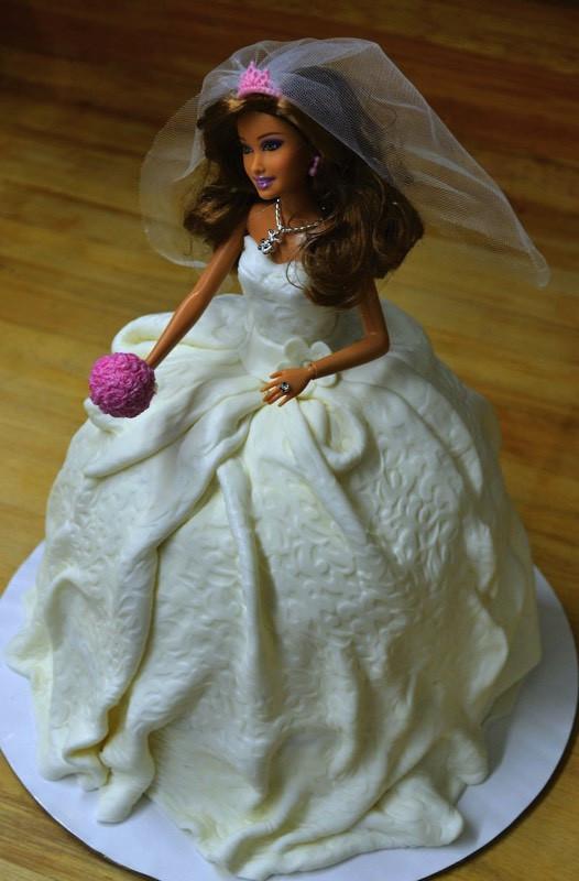 Barbie Wedding Cakes  Barbie Wedding Dress