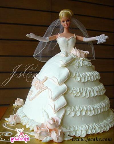 Barbie Wedding Cakes  Bolos para Festa de Noivado ou Despedida de Solteira
