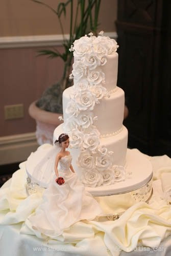 Barbie Wedding Cakes  10 Best images about Browen Weber Cakes on Pinterest