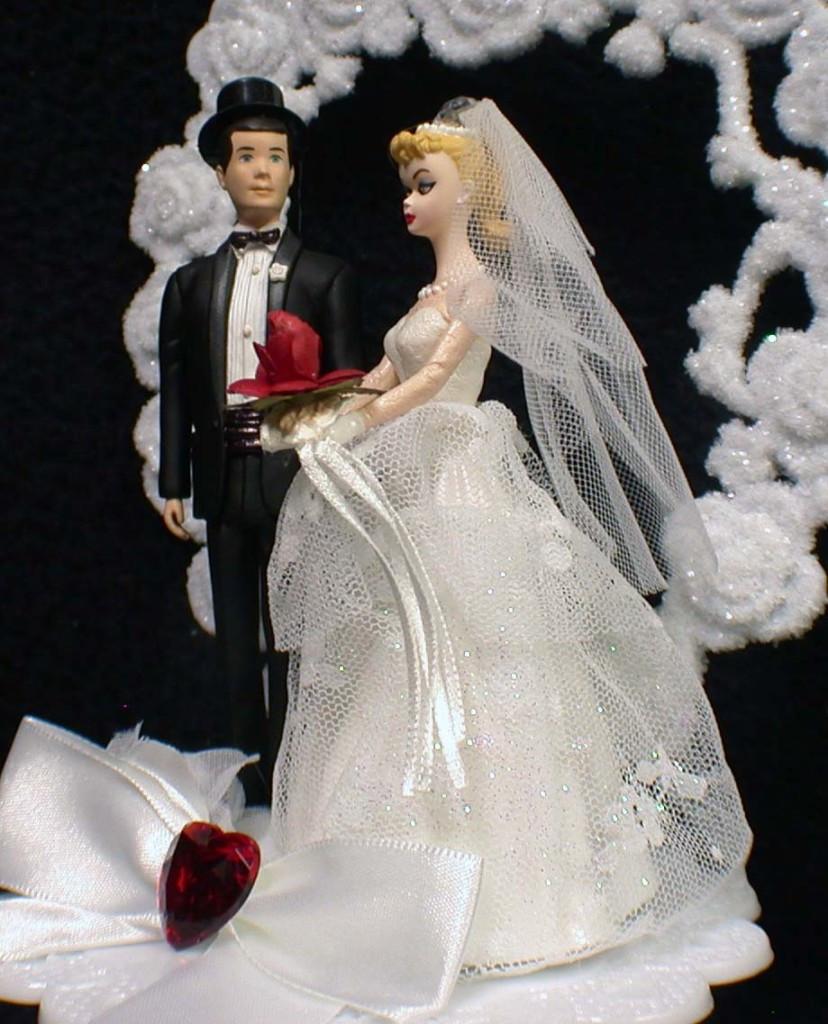 Barbie Wedding Cakes  Barbie wedding cake topper idea in 2017