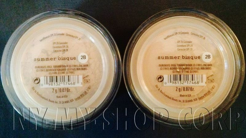 Bare Mineral Summer Bisque  Bare Escentuals bareMinerals Summer Bisque Concealer SPF20