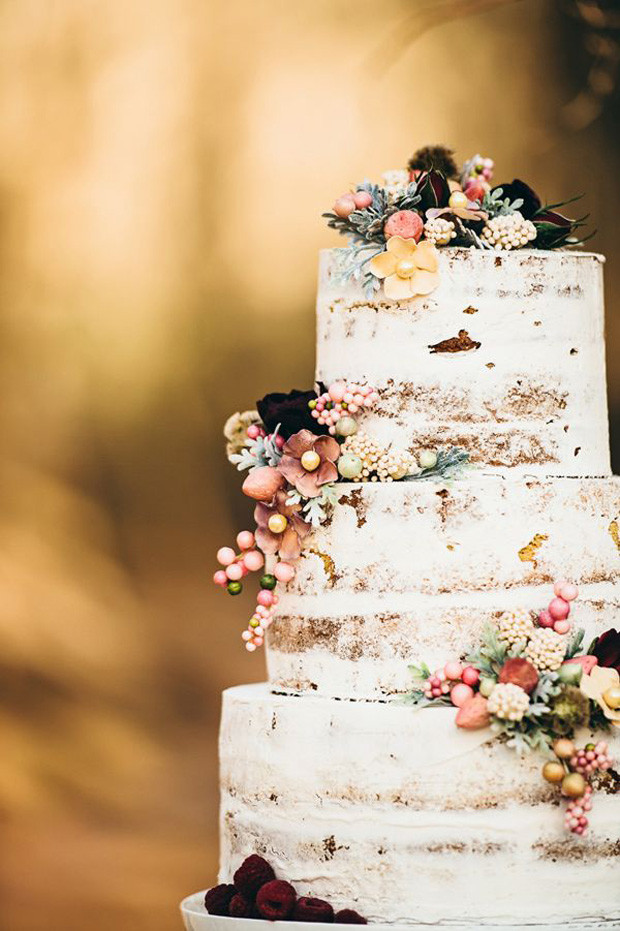 Bare Wedding Cakes  Naked Wedding Cakes Rustic Beautiful Creative or Unique