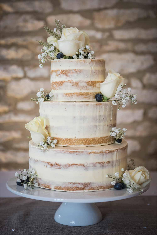 Bare Wedding Cakes  31 Naked Wedding Cakes