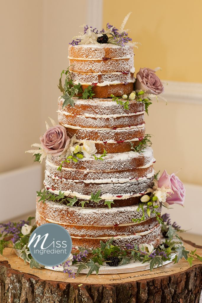 Bare Wedding Cakes  388 best images about Naked Rustic wedding cakes on
