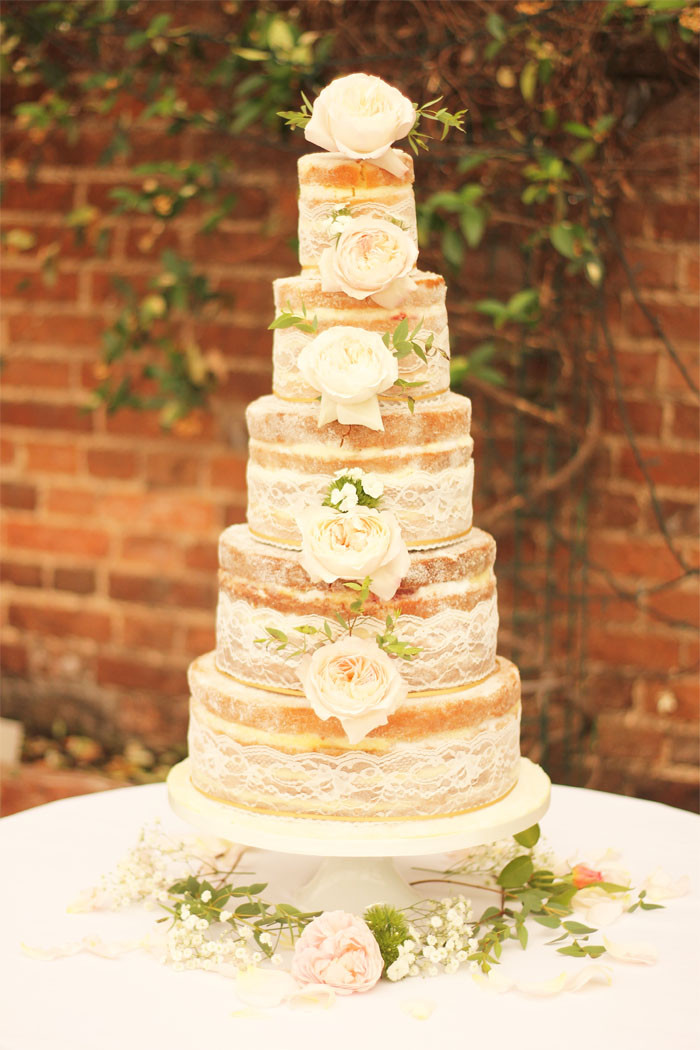 Bare Wedding Cakes  10 truly scrumptious wedding cakes