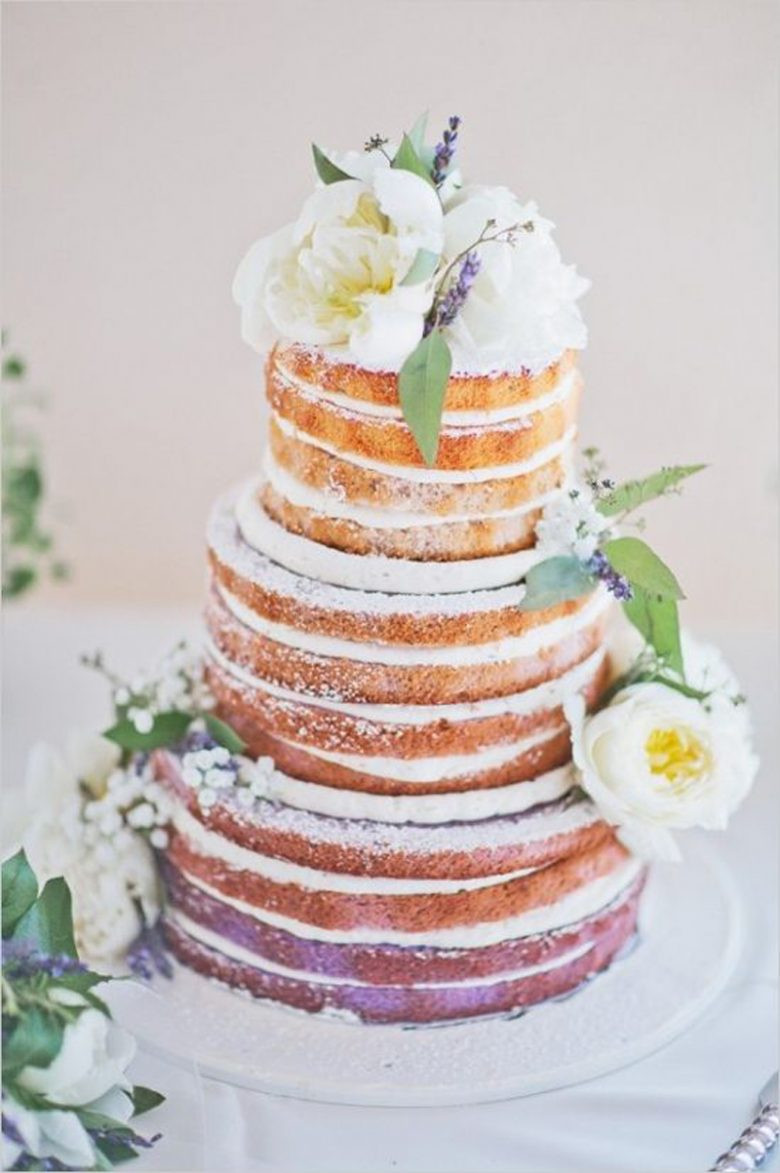 Bare Wedding Cakes  5 Types of Naked Cakes and How to Make Your Own