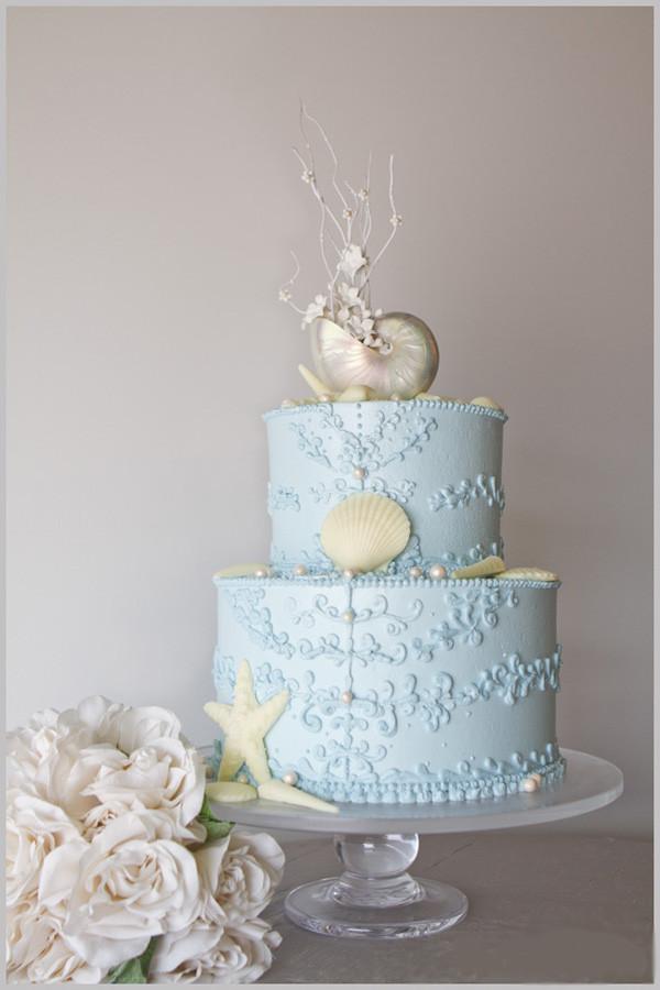 Beach Themed Wedding Cakes  beach wedding cakes Archives Blue Bridesmaid Dresses