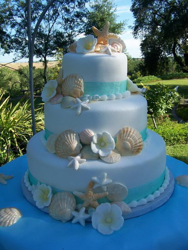 Beach Themed Wedding Cakes  Beach Wedding Cakes 15 Incredibly Fun and Vibrant Ideas