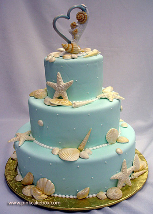 Beach Themed Wedding Cakes  The Unique Wedding Cake With Beach Ideas Just For Wedding