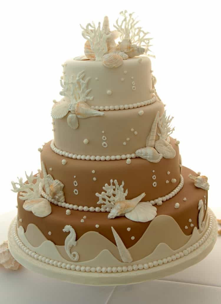 Beach Wedding Cakes Pictures Best 20 Beach Wedding Cake Ideas Destination Wedding Details