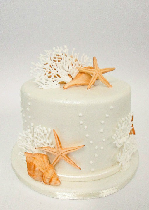 Beach Wedding Cakes Pictures  Beach Wedding Cake Ideas Destination Wedding Details