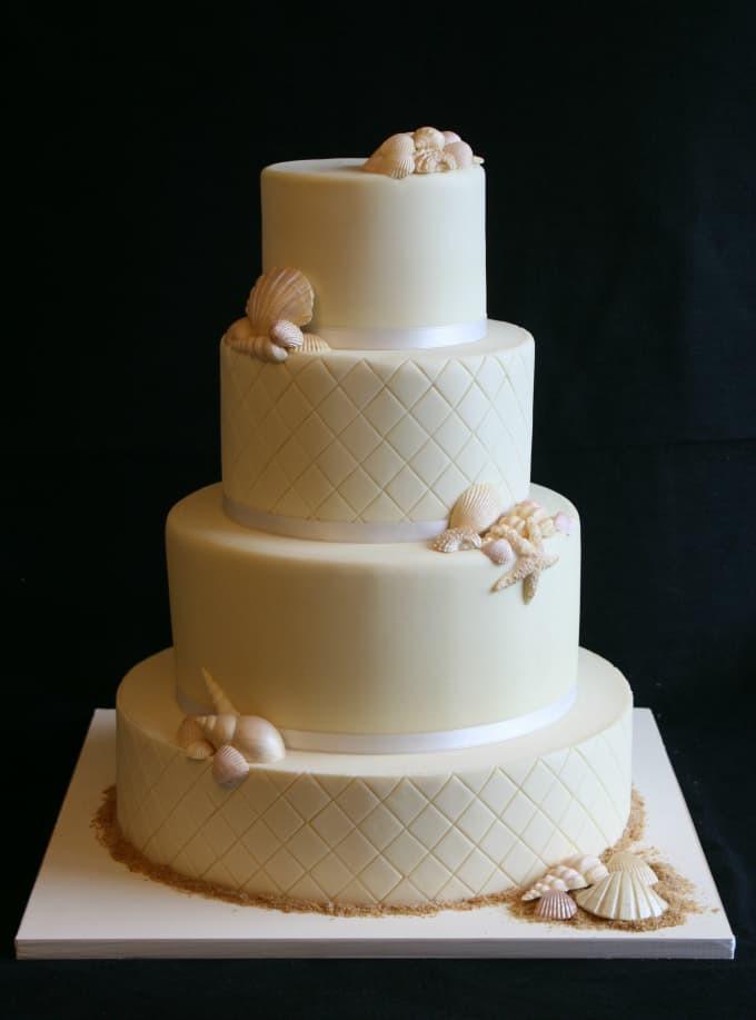 Beach Wedding Cakes  Gallery of Beach Theme Wedding Cakes