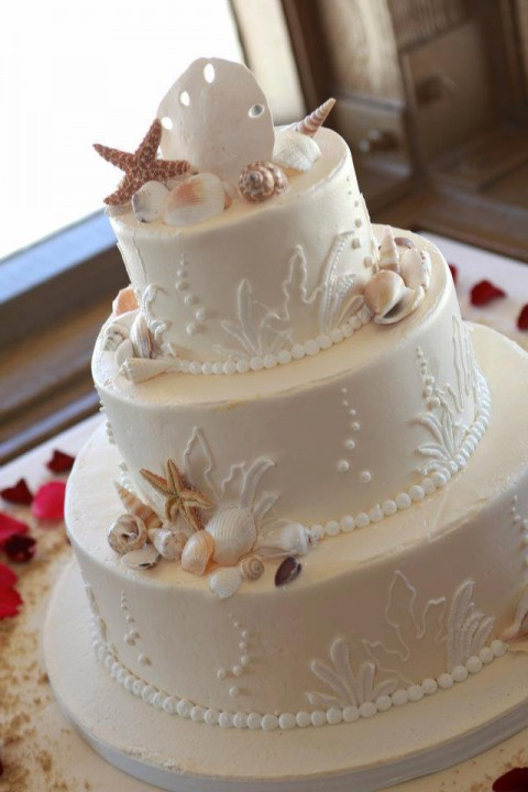 Beach Wedding Cakes  80 Delicious Beach Wedding Cakes