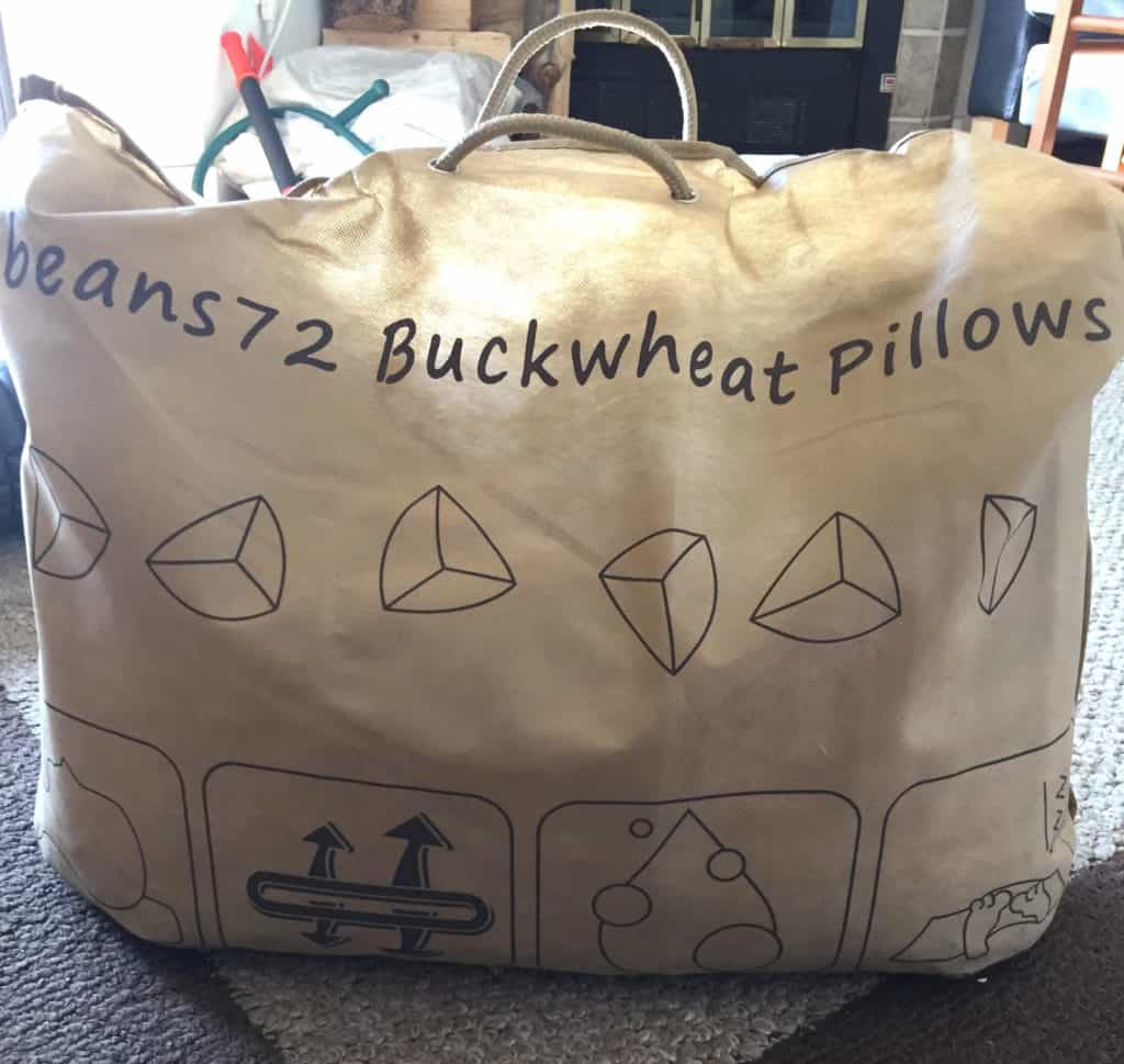Beans72 Organic Buckwheat Pillow  Beans72 Organic Buckwheat Pillow Review
