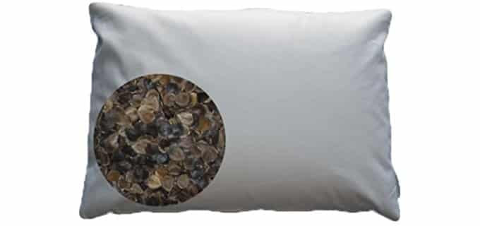 Beans72 Organic Buckwheat Pillow  The Best Buckwheat Pillows in The World Pillow