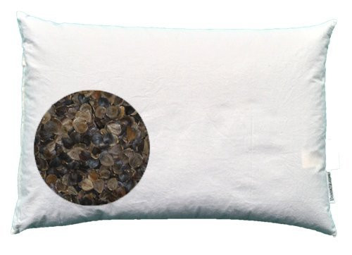 "Beans72 Organic Buckwheat Pillow  Beans72 Organic Buckwheat Pillow Japanese Size 14"" x 20&q"