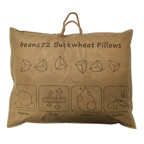 Beans72 Organic Buckwheat Pillow  Beans72 Organic Buckwheat Pillow Travel Child Size 11